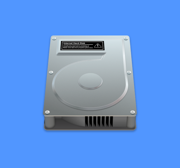macOS HDD icons